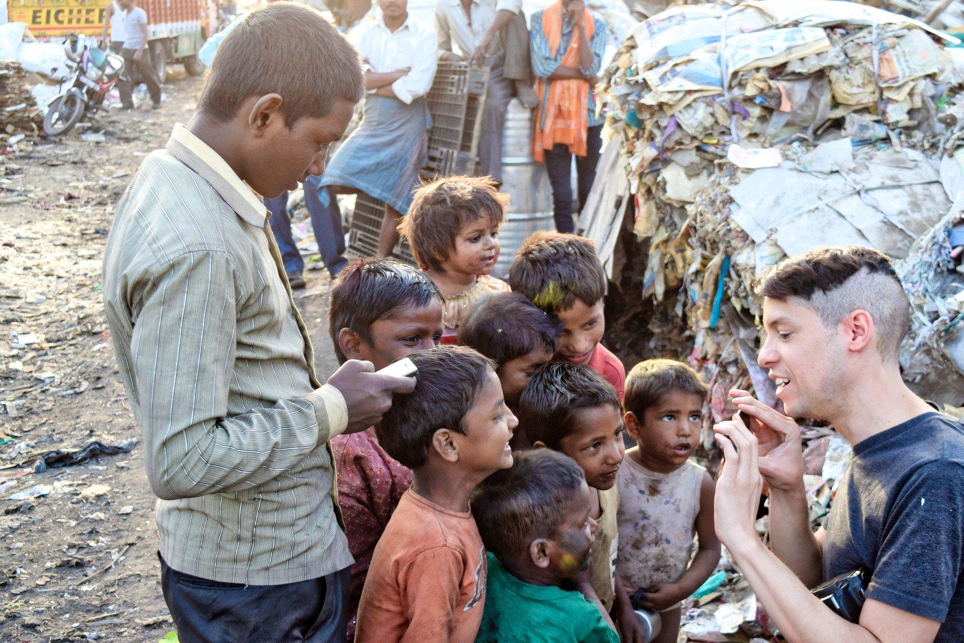 NGO organised slum tours