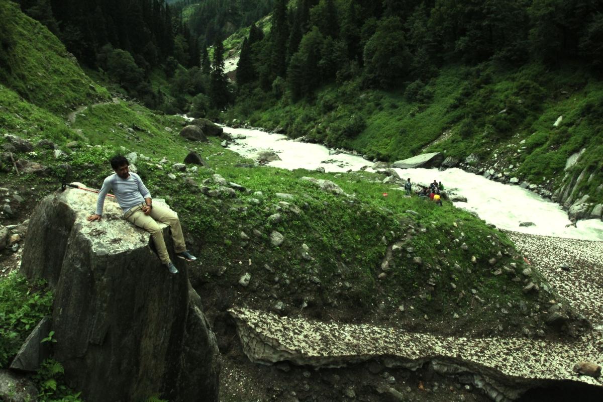 Pind Bhabha Trek route