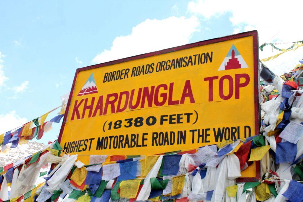 Adventures in Leh- Khardungla Top
