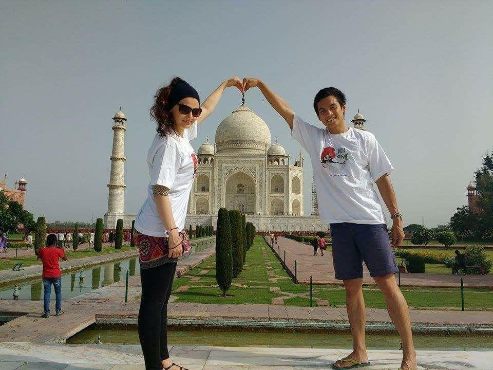 Meilleurs moments pour partir en Inde - devant Taj