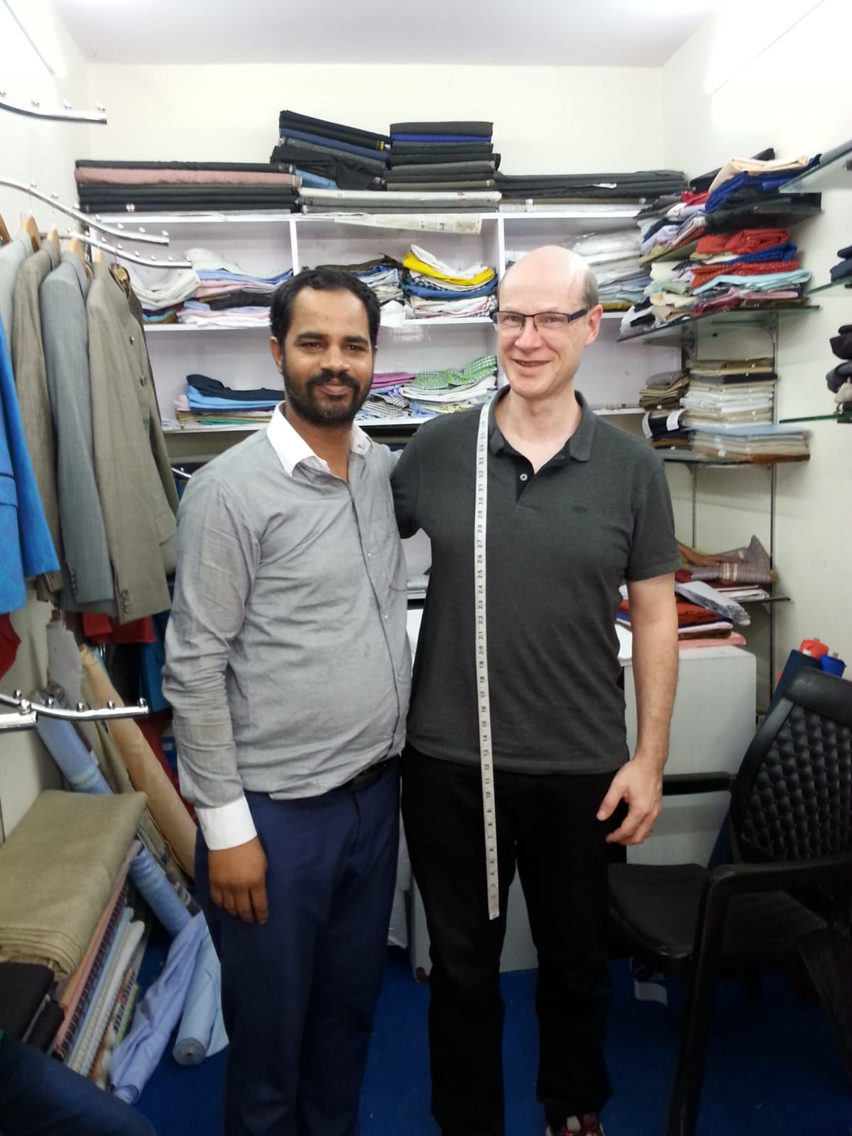ten things to do to visit India Otherwise - Jaipur - Go to a tailor