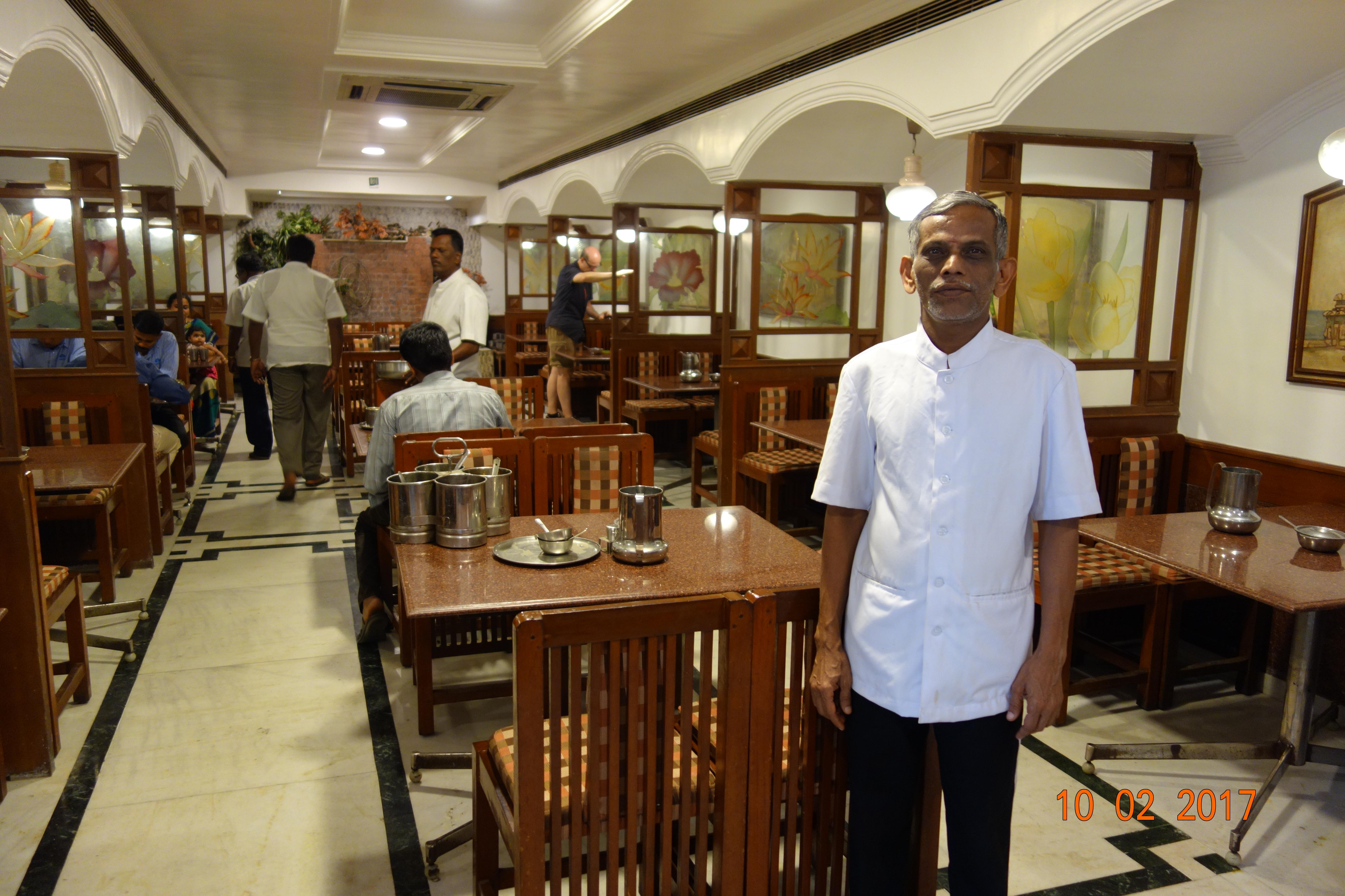 les pourboires en Inde -Dans un restaurant