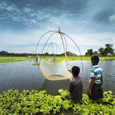 Landschaft in Südindien