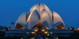 Lotus Tempel, Sehenswürdigkeiten Delhi