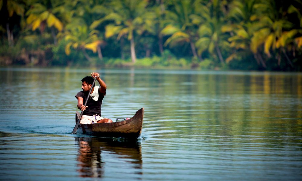 Budget Travel Routes India, Backwaters of Kerala