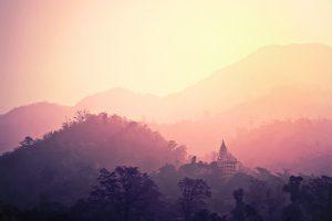 Reiseroute, rishikesh, nordindien
