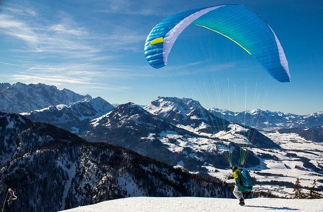 Paragliding, Adventure activities to do in India