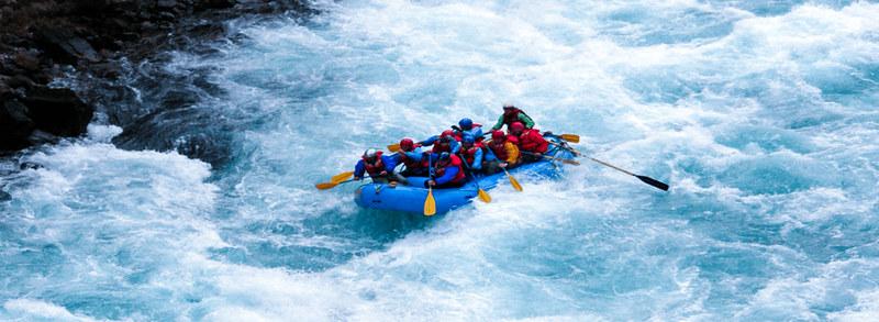 adrenaline rush, WHITE-WATER RAFTING