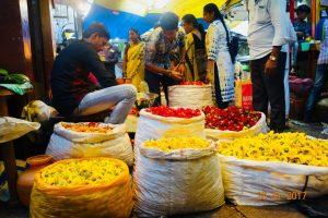 Circuit d' Orissa - Marchée du fleurs