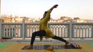 Yoga with Seethu, Udaipur. Ashram Indien