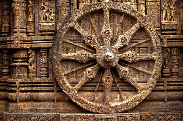 Sun temple in Konark India
