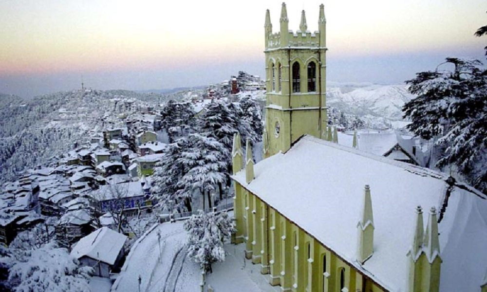 Christ Church, places to visit in shimla