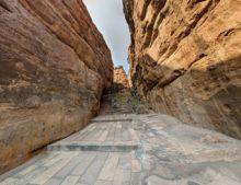 Klettern, Badami, Abenteuer Indien