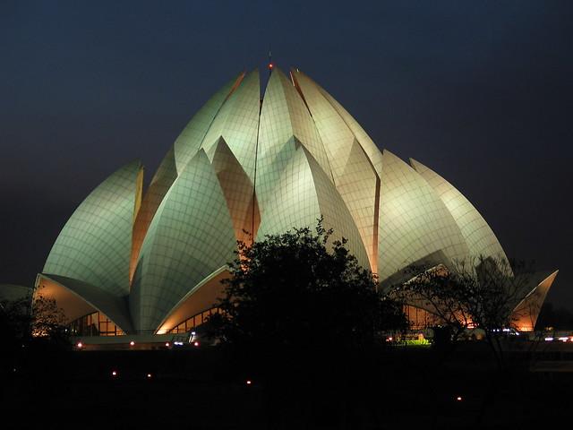 Lotus Temple, Temples in India, Delhi