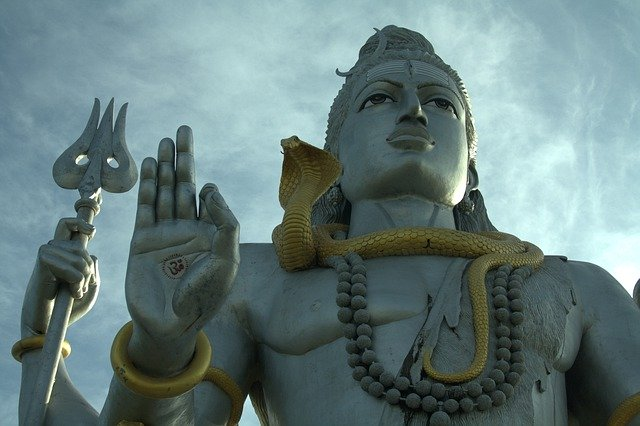 The magnificent Lord Shiva Statue, Religious places in India
