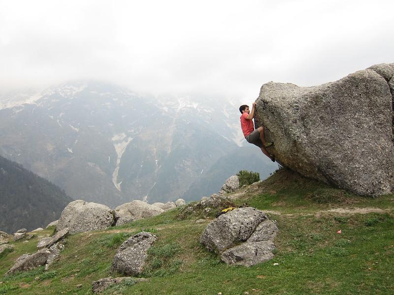 Mountain sports in India