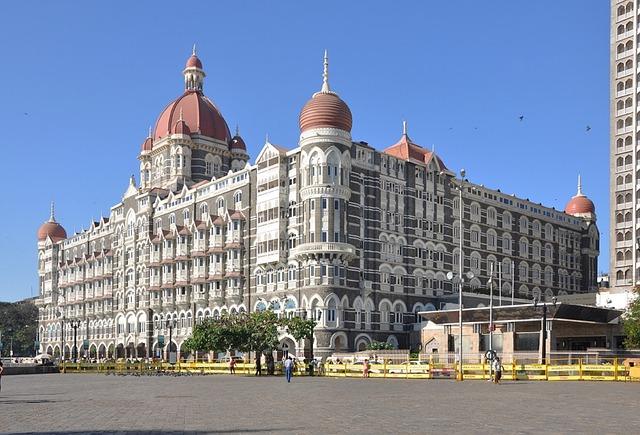 Taj Mahal Palace hotel Mumbai, Palace hotels in India