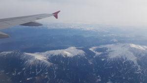 Flugzeug Himalaya, Flughafen indien