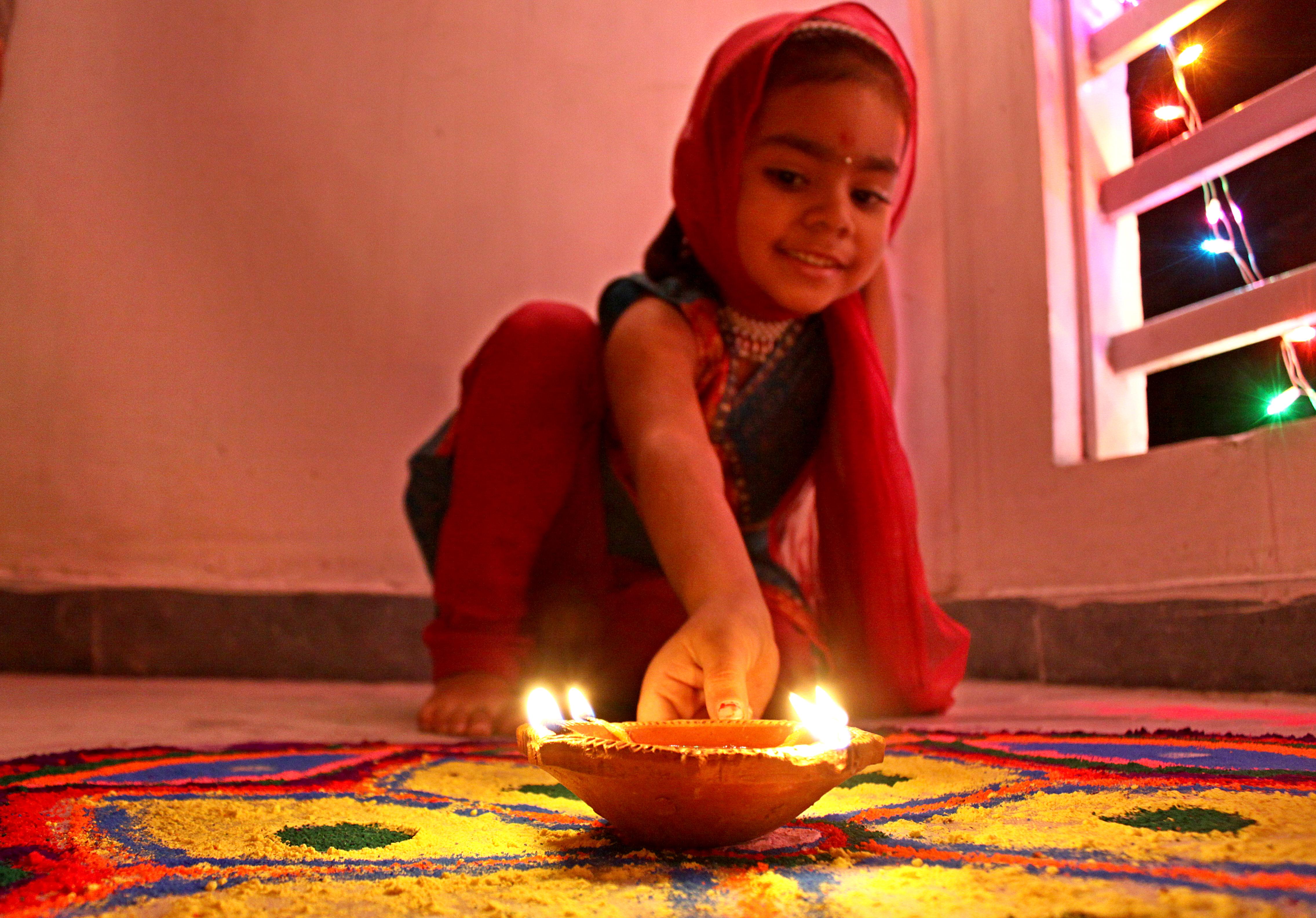 Diwali Indien, beste Reisezeit Indien