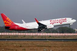 Airplane Spice Jet, Inlandsflüge Indien