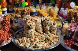 Jhalmuri, indisches Streetfood, Kalkutta