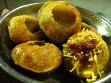 indisches Streetfood, Streetfood Mumbai, Pani Puri,