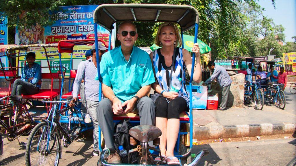 Fun Cycle rickshaws, responsible travel in India