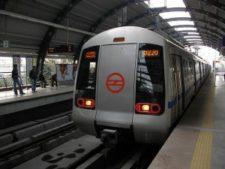 Delhi metro, new delhi