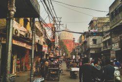 Old Delhi, Straßen Delhis