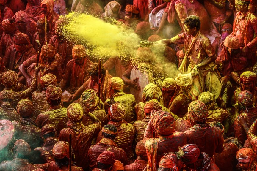 Festivals in India - Holi - the festival of colour