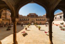 reise nach indien, forts und paläste in indien