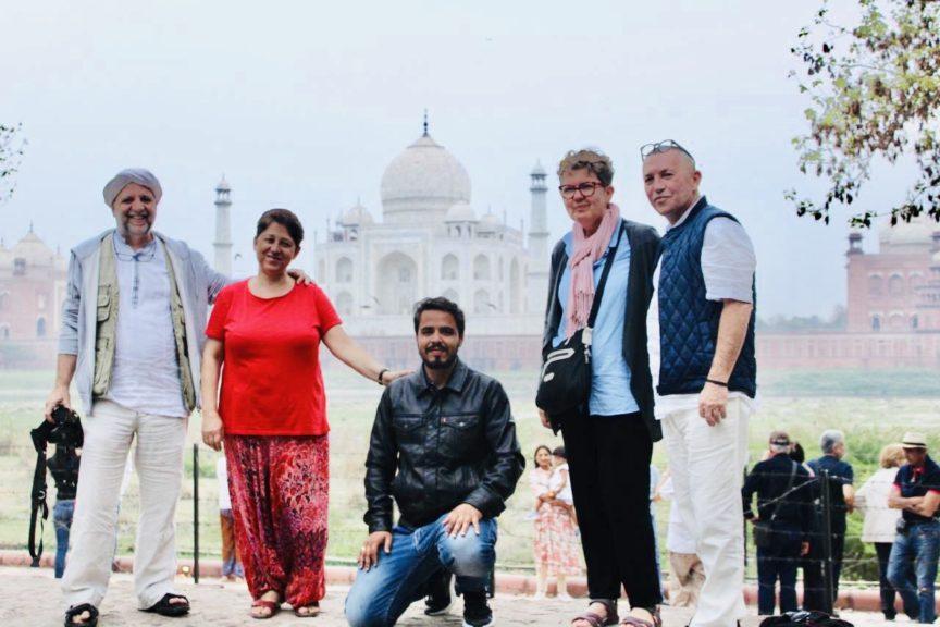 Voyage pour cinq personnes en Inde