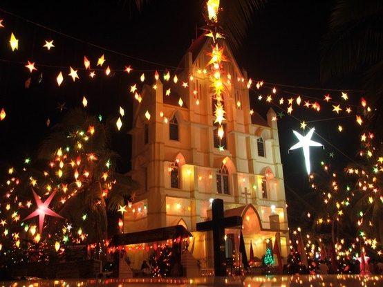 Noël en Inde