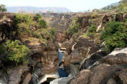 Aurangabad, mit dem zug in indien