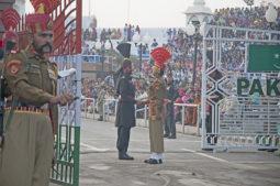 Wagah Grenze Indien