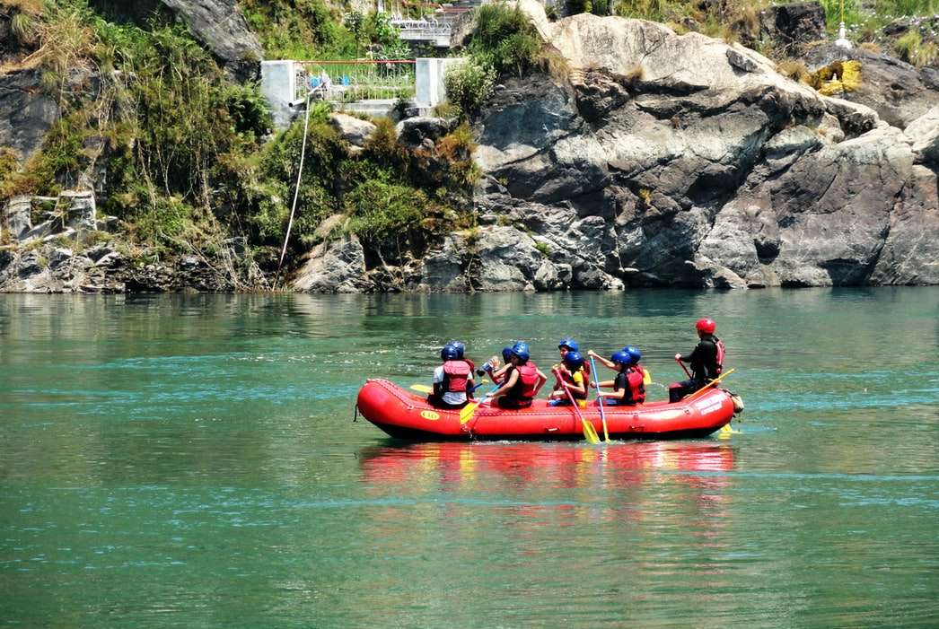 River rafting - one of the best things to do in Rishikesh