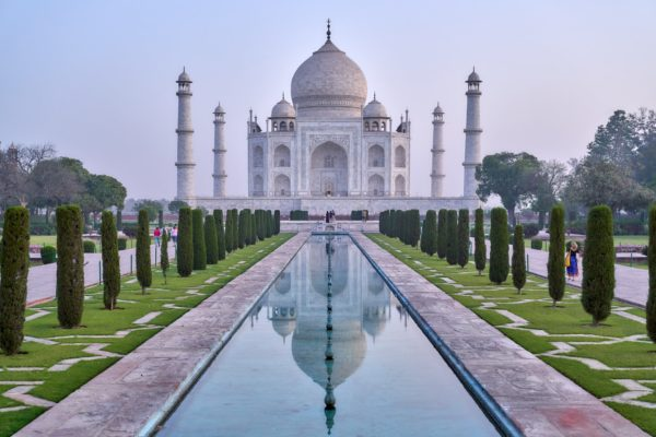Taj Mahal, Seven Wonders of the world, Places to visit in January , North India in January