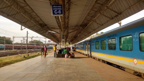 Train journeys in India