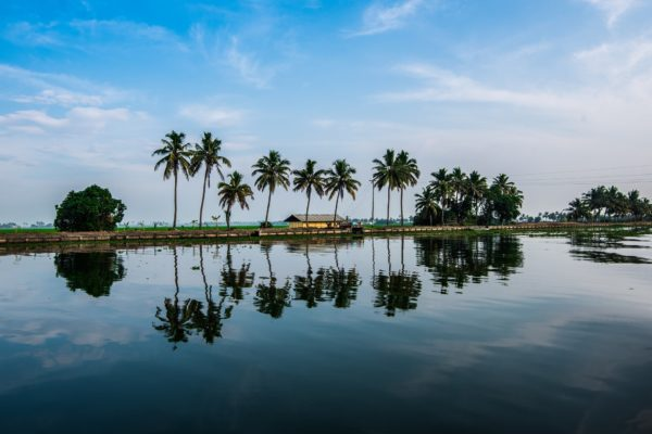 Backwaters of Kerala South India