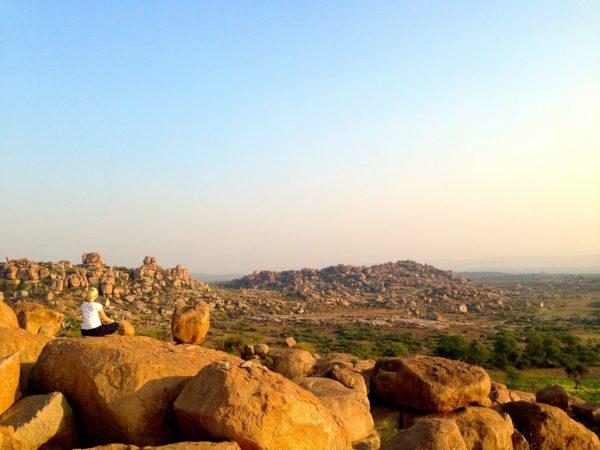 Meditation in Hampi, Spiritual trip in India