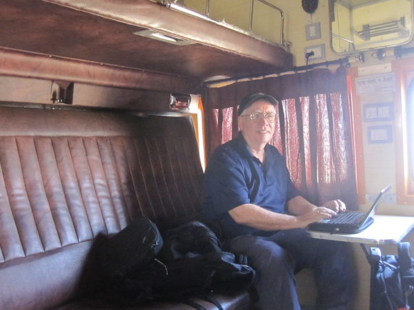 Train journeys in South India