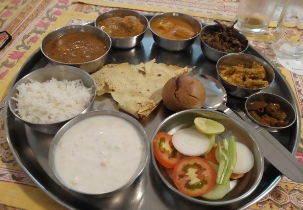 Food in India, Tours around India