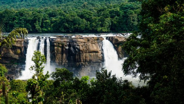 Athirappilly Water Falls in South India