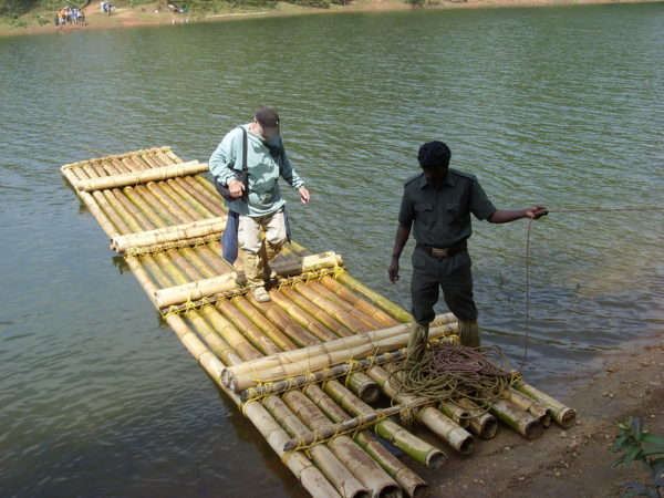 Adventure activities in India, Bamoo rafting
