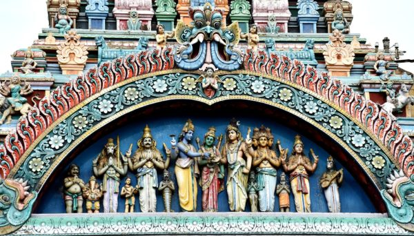 Temples of south India, Suggested travel routes for South India