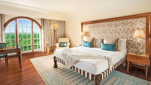 The Oberoi AmarVilas Taj view room, Luxury tours in India