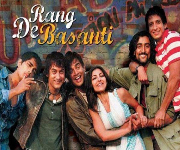 Rang de basanti, Best bollywood movies