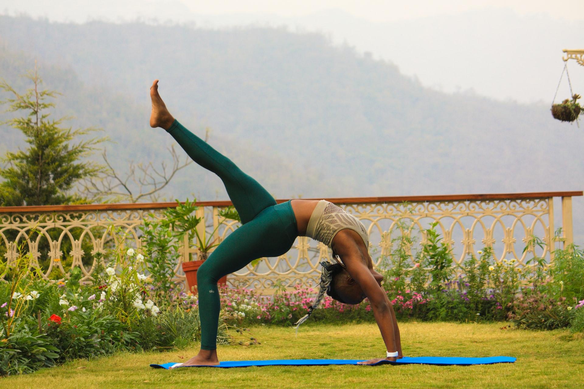 Yoga in Indian Ashrams