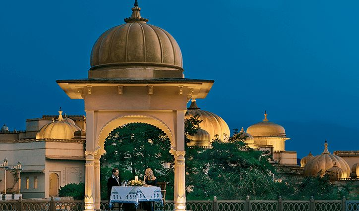 Udaivilas, Romantic hotels in India
