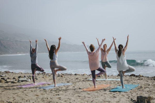 Spiritual trips in India, Yoga on the beach